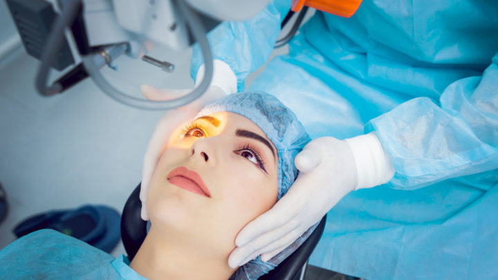 Хирургическое лечение отслоения сетчатки глаза