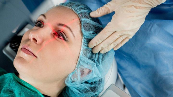 Какие бывают виды операций на глазах?